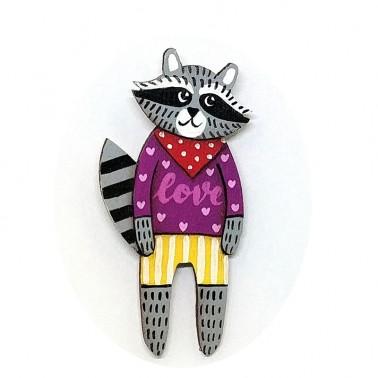 Love Jumper Raccoon sagė