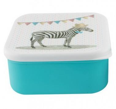Party Animals Zebra priešpiečių dėžutė