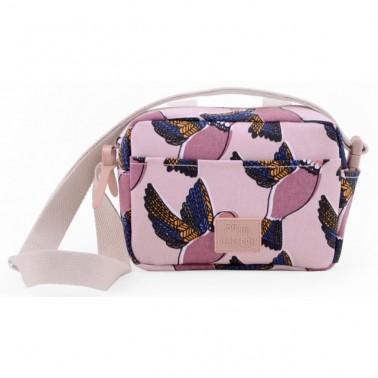 Pink Birds mini rankinė/rankinė paspirtukui