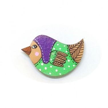 Purple Hat Birdie sagė