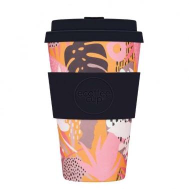 Tsunami at the Halekulani Ecoffee Cup daugkartinio naudojimo puodelis (400 ml)