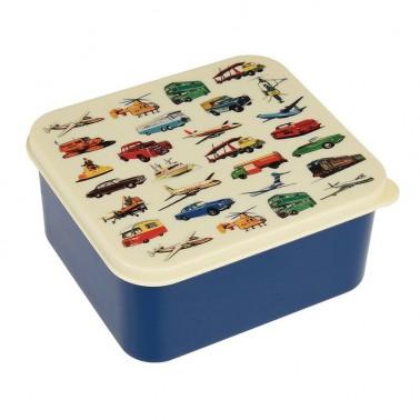 Vintage Transport priešpiečių dėžutė