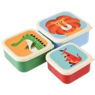Colourful Creatures priešpiečių dėžučių rinkinys