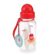Llama vandens buteliukas