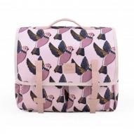Pink Birds mokyklinis portfelis
