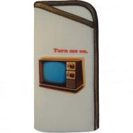 Tourne-disque TV Vintage akinių dėklas
