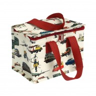 Vintage Transport priešpiečių krepšys