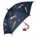 Space Age vaikiškas skėtis