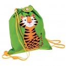 Tiger kuprinė su raišteliais