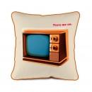 TV Vintage didelė pagalvėlė