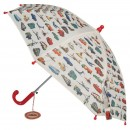 Vintage Transport vaikiškas skėtis