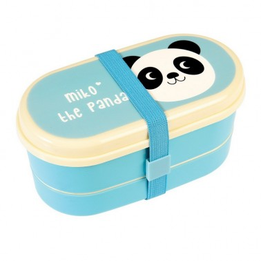 Miko the Panda бенто коробочка для ланча