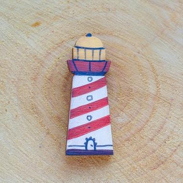 Wide Lighthouse брошь