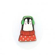 Penguin брошь